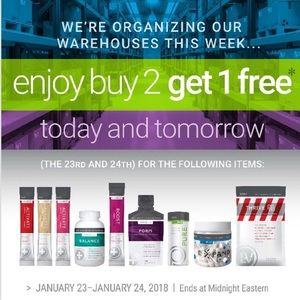 Message me to get this buy 2 get 1 free offer!